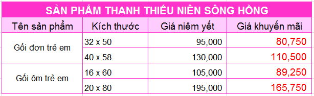 Gối ôm trẻ em